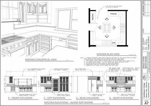 kitchen in 3D